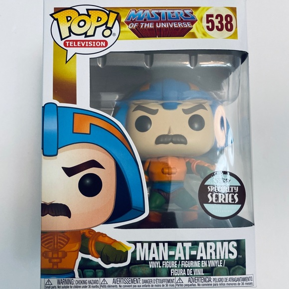 Funko Other - SOLD❕Funko Pop Man At Arms Masters Of The Universe